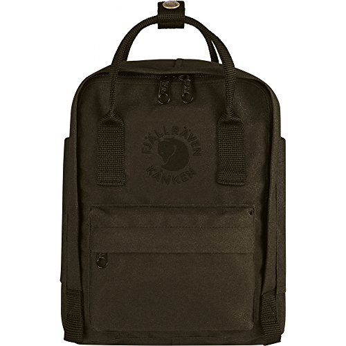 Fjallraven Kanken, Re-Kanken Mini Recyclable Pack, Heritage and Responsibility Since 1960, Dark Olive