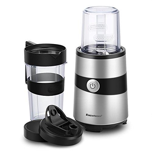 Excelvan ミキサー ジューサー ミル付き ブレンダー 1000W 毎分約18000回転 氷も砕けるハイパワー BPA フリーボトル採用の商品画像