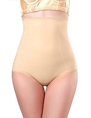 ROCHVIE Women's High Waist Tummy Control Shapewear Seamless Firm Butt Lifter Body Shaper