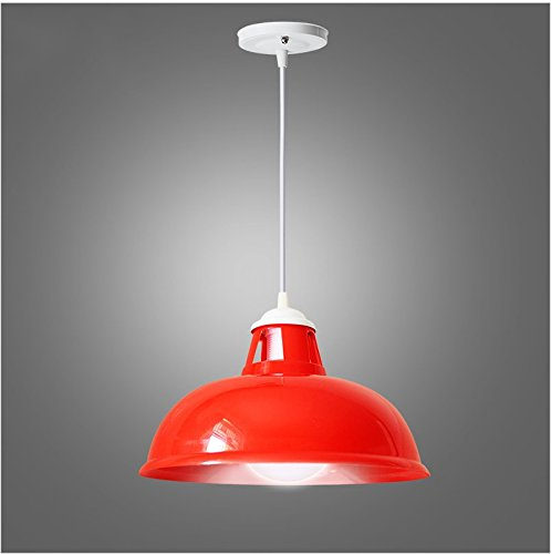 CGHYY Acrylic Color Plastic Chandeliers Caliber 39Cm Red