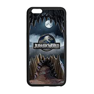 """FEEL.Q- Jurassic Park The Lost World Movie Personalized Protective Case for iPhone 6 Plus (5.5"""") TPU Rubber Phone Cases"""