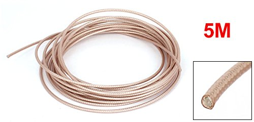 16,4Ft 5M Longitud RG316 Coaxial Cable CoPlomo axial bajo Loss RF Adaptador Wire: Amazon.es: Electrónica