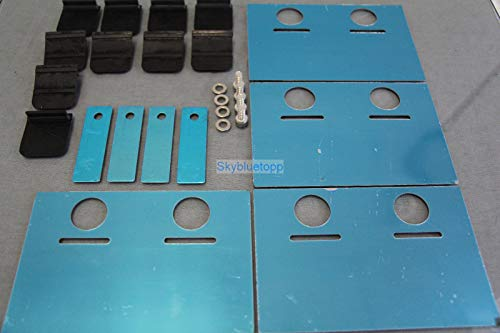 Precision Works UNIVERSAL OIL PAN BAFFLE PLATE KIT (TOMEI STYLE)