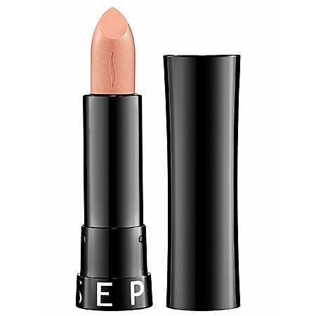 Rouge Shine Lipstick Sephora 0.13 Oz No. 02 Golden Girl - Shimmer - Warm Nude Beige with Iridescent Shimmer