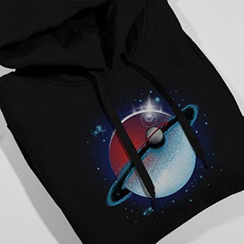 Pokemon Planet Saturn Women's Hooded Sweatshirt