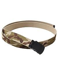 Rothco Camo Reversible Web Belt, Tri-Color Desert Camo/Tan - 54 Inches