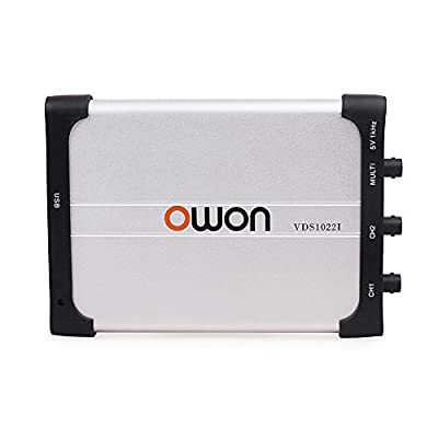 OWON VDS1022I 100MHz 1GS/s Sample Rate 2/4 channels PC Digital Oscilloscope