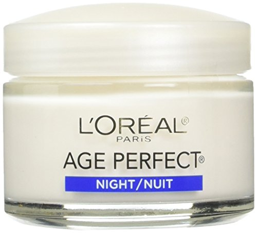 L'Oreal Paris Age Perfect Night Cream, 2.5 Fluid Ounce (Pack of 2) (Best Night Cream For Mature Skin Reviews)