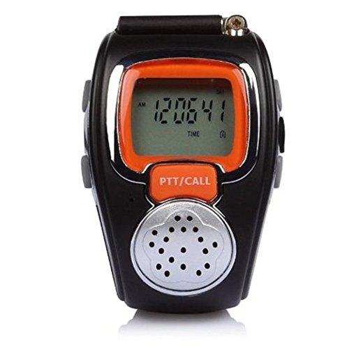 Wrist Watch Walkie Talkie - Internal VOX, LCD Display, 600mAh Battery, Maximum 6KM Range, Multi Channel, Auto Squelch by Generic (Image #3)
