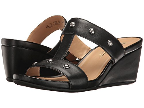 Naturalizer Women's Cambrey Black Leather (Naturalizer Wedge Shoes)