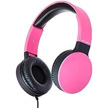 Headphone Dobrável New Fun P2 Multilaser Rosa - PH271