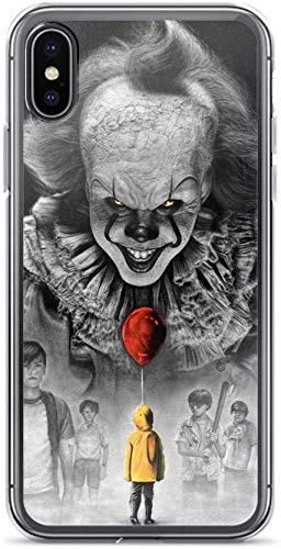 The Club Kings Cross Halloween (Transparent Soft TPU Protective Cover Case Pure Clear Case Compatible for iPhone 11 Pro IT Penny Wise Balloon Losers Club Stephen King)