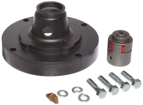Procon 3540 rotary vane pump adapter kit includes coupler for 56c frame motor adapter