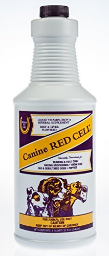 Canine Dog Red Cell Nutritional Supplement Vitamins 32 fl oz