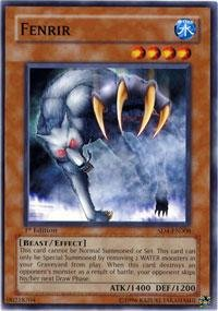 Yu-Gi-Oh! - Fenrir (SD4-EN008) - Structure Deck 4: Fury from the Deep - 1st Edition - Common