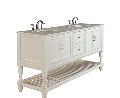 - Direct Vanity Sink 6070D10-WW Mission Turnleg 70