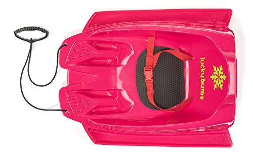 Lucky Bums Toddler Pull sled, Pink