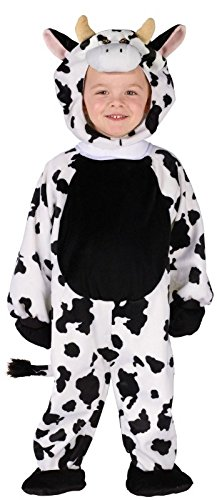 Fun World Cuddly Cow Toddler Costume, One Size, -