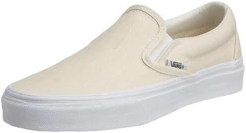 Vans Unisex Classic Slip-On White Skate Shoe 12 Men US Off White