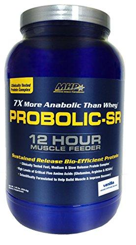 MHP, Probolic-SR Sustained Release Bio-Efficient Protein, Vanilla, 28 - Sr Sports