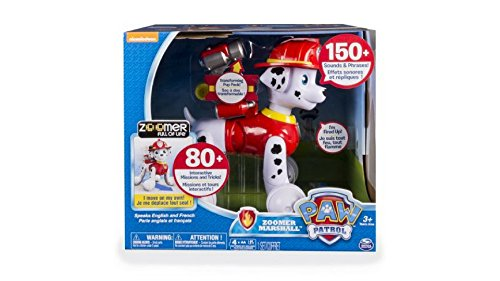 Curtains Costumes Plot (Nick Jr. PAW Patrol Zoomer Marshall Electronic Dog Pet Moves and Acts Just Like a Real Pup)