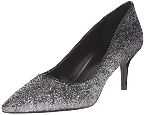 Nine West Margot Fibra sintética Tacones Pewter/Black
