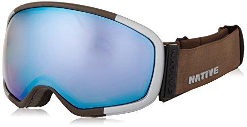 Best Native Eyewear Tank-7 Ski Goggle, Aluminum