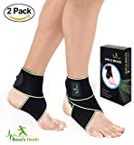 Ankle Brace for Women and Men - Adjustable One Size Fits All - Comfortable and Elastic Material Breathable -Ankle Wrap for Sports - Protect Against Chronic - Stabilizing Ligaments - Injury Recovery