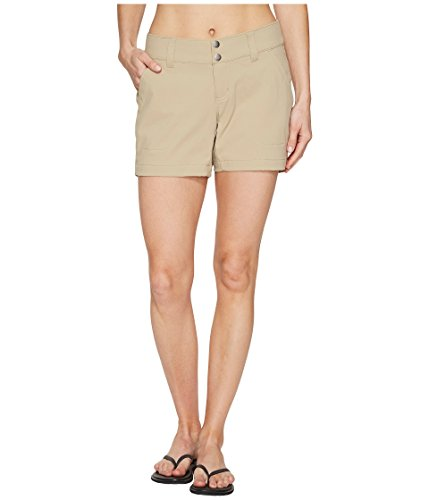 Columbia Women's Saturday Trail Short, Water & Stain Resistant, British Tan, 12x5
