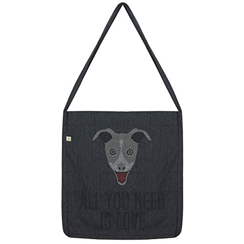 Bag Need And Envy Black Twisted A is You Tote love Hound All Grey agWqP