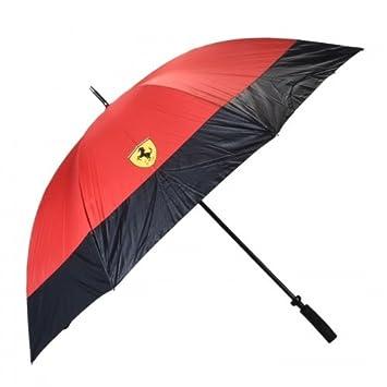 Ferrari Original Golf Paraguas con Print en Aspecto de Carbono