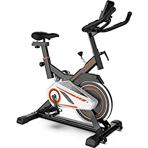 Well-Being-Matters 41bcmJ8qLrL._SS300_ UREVO Indoor Cycling Bike, Indoor Exercise Bike Stationary Bike for Home Cardio Workout Bike with Comfortable Seat…