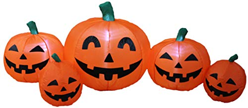 Impact Canopy Inflatable Outdoor Halloween Decoration, Pumpkin Patch Family, 4 Feet Tall ()