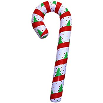 Amazon.com: SNInc. Inflatable Candy Cane for Christmas Decorations ...