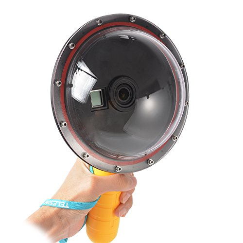 TELESIN 6 inch Dome Port Underwater Photography Shell and