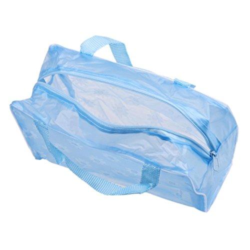 Tonsee® toilette Maquillage bleu Portable Sac Pouch Voyage cosmétique de Organisateur Brosse à Wash dents rose rwrq6IC