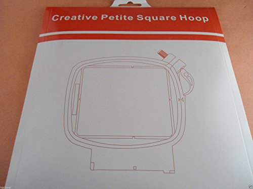 Sew Tech Replacement PFAFF Creative 2.0/4.0, Creative Sensation, Creative Vision, Creative Performance 3'' x 3'' (80 x 80mm) Petite Square Hoop by SewTech