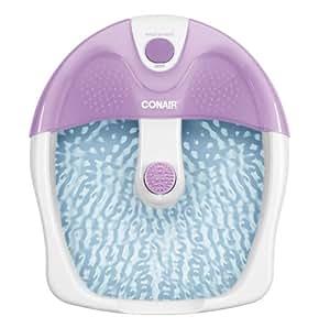Conair FB3 bañera de pies - Hidromasaje para pies Violeta, Color blanco