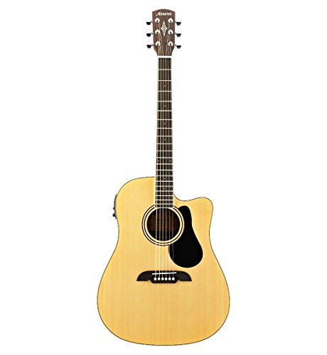 Alvarez RD27CE Dreadnought Acoustic-Electric Guitar Natural