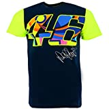 Valentino Rossi VR46 Moto GP Large 46 Signature Blue T-shirt Official 2017 offers