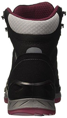 Schwarz Chaussures Randonnée Beere de WMS Mid Lowa Noir Femme Innox GTX wnzqTfWxpH