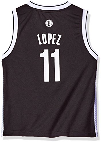 NBA Boys 4-7 Brooklyn Nets Lopez Away Replica - Jersey Replica Nets