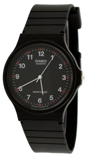 Casio MQ24 1B Analog Watch Black
