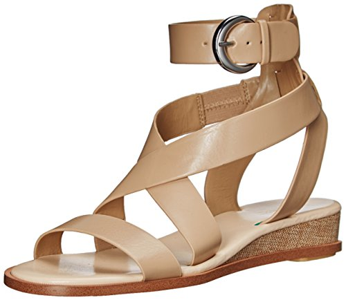 Nine West Women S Velope Leather Sandal Light Natural