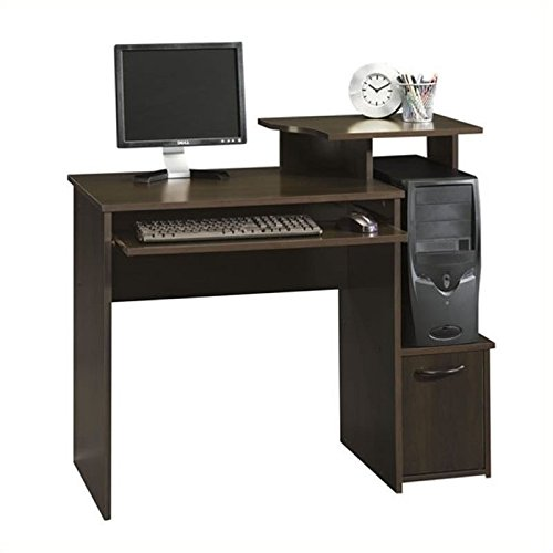 042666132350 - Sauder Beginnings Computer Desk, Cinnamon Cherry Finish carousel main 1