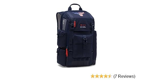 d21de07283 Amazon.com  Under Armour UA x Project Rock Freedom Regiment Backpack OSFA Midnight  Navy  Sports   Outdoors