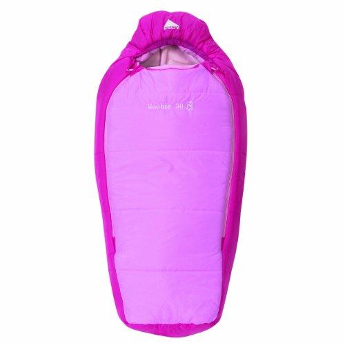 Woobie 30 Degree Girls Short Sleeping Bag (Right Hand), Outdoor Stuffs