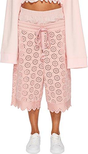 PUMA Women's Fenty Embroidered Long Shorts Bridal Rose Medium by PUMA