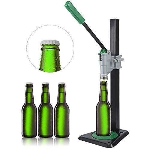 Beer Bottle Capper Bench for Home Brewing Metal Manual Bottle