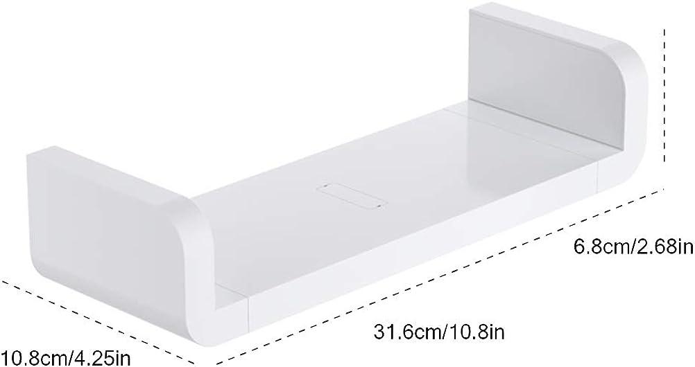 Mensola portaoggetti Impermeabile per Bagno 1 Pezzo Suszian